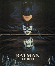COUPURE de presse PHOTO CLIPPING  BAT MAN LE DEFI