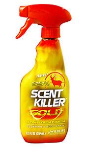 Wildlife Research Scent Killer Gold Spray 12oz. Trigger