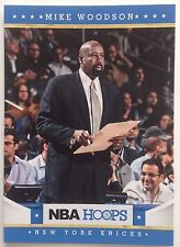 Nike Woodson Coach New York Nicks Original 9 Single # 21 Panini 2011-2012