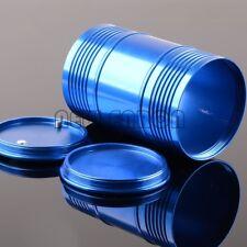 BLUE Aluminum CNC Oil Drum Fuel Tank 94*60MM FOR RC NITRO 1/10 1/8 Rock Crawler