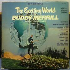 BUDDY MERRILL AND HIS GUITARS the exciting world of LP VG+ ACS-5020 Vinyl Stereo