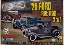 Revell '29 Ford Rat Rod 3'n1 1/25 Scale Plastic Model Kit 85-4932