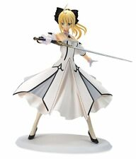 Anime Fate Stay Night Saber Lily White Dress PVC Figure Figurine Sexy Girl Doll