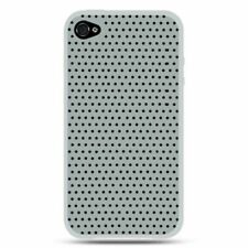 For Apple iPhone 4 Clear Silicone Rubber Case