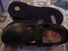 Birkenstock-Footprints Biarritz 38N L7 M 5   Leather Black