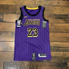 Nike Lakers LeBron James 'City Edition' NIKE-CONNECT Swingman Jrsy Men's Sz 40 S