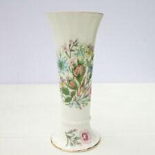 Vintage Aynsley Wild Tudor Fine Bone China Floral Vase