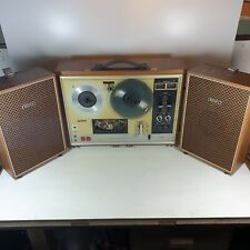 Sony TC-270 reel to reel player in good working order. Cover plate is missing