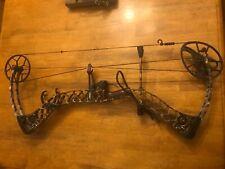 Hunting Bow Mathews Creed used Camo 28 inch draw 70lbs