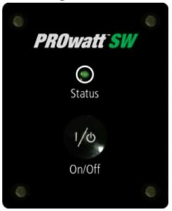 Xantrex 808-9001 PROwatt SW Remote Panel with 25' Cable