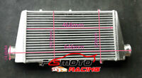 "Universal Turbo Front Mount Aluminum Intercooler 468x290x38mm Tube & Fin 3"" pipe"