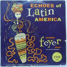 "George Feyer - Echos of Latin America 10"" record LP Easy Listening VOX VX 670"