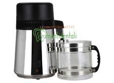 4L 750W Distillatore d'acqua Acciaio Inox Distillatore Purificatore Distillazion