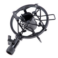 Metal Handheld Condenser Microphone Shock Mount Clip mic Studio Holder 26-33mm