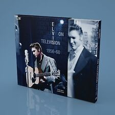 ELVIS PRESLEY - BOXCAR - ELVIS ON TELEVISION 1956 - 1960 (400 Page Book in Box)