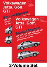 Volkswagen Jetta, Golf Gti Service Manual: 1999-2005 1.8L Turbo 1.9L Tdi Bentley