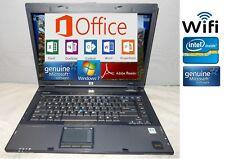 "HP COMPAQ 15.4"" LAPTOP Wireless Internet Good Batt. Office 2016 Windows 10. Nice"
