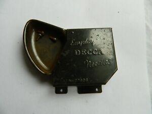 Decca Portable Needle  container