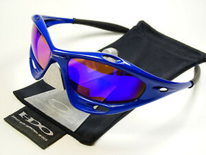 Oakley Racing Jacket Blue Sonnenbrille Straight Fast Radarlock Water Eye Jawbone