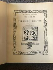 Antique Book Of The Nude In The French Theater