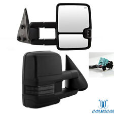 FIT 03-2006 Chevy Silverado Sierra Towing Mirrors Power Heated LED Signals Pair