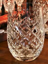 "Waterford Crystal POWERSCOURT (CUT) 10 ozs Tumblers  4 3/8"" 690/124"