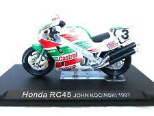 1:24 scale Altaya De Agostini Honda RC45 Superbike Model John Kocinski 1997