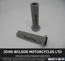 Kawasaki GPZ 1000 RX Ninja 1986 - 1987 Grey Black Domino Handle Bar Race Grips