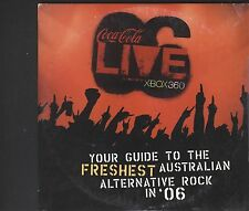 Coca Cola Live XBOX 360 CD Card sleeve Type