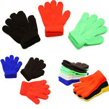 Toddler Girl Boy Kids Magic Gloves Mittens Stretchy Knitted Winter Warm Gloves