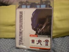 Transformers 2 Disc DVD Target Exclusive Optimus Prime Transforming Packaging