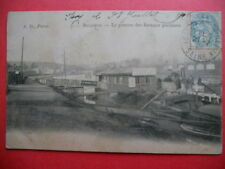 BELLEVUE  :  Le Ponton des Bateaux Parisiens......VO.1906.