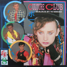 Culture Club - Colour By Numbers LP. UK 1983. Inc poster. VG. Selling more vinyl