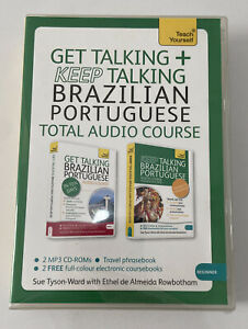 Get Talking and Keep Talking Brazilian Portuguese Total Audio Course: (Audio pac