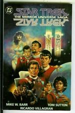 STAR TREK: THE MIRROR UNIVERSE SAGA, DC Comics 7 issue comic book trade pb