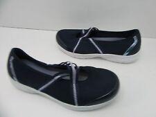 Women's Easy Spirit Squinty Canvas Walking Shoe Navy Size 8.5 M