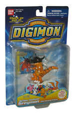 Digimon Action Feature Greymon Bandai Figure w/ Roaring Action