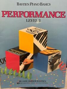 Bastien Piano Basics - Performance Level 2- Paperback By James Bastien -WP212