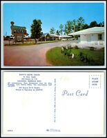 GEORGIA Postcard - Calhoun, Duffy's Motel South G41