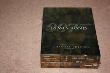 James Bond Ultimate Edition - Vol. 1 (DVD, 2009, 10-Disc Set) *Brand New Sealed*