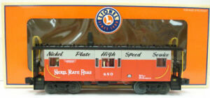 Lionel 6-17643 Nickel Plate Road Lighted Caboose #480 LN/Box