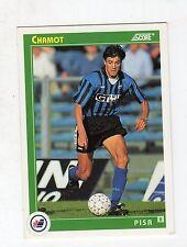 figurina card - CALCIATORI CARD SCORE 1993  - numero 430 PISA CHAMOT