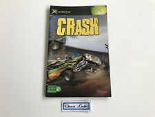 Notice - Crash - Microsoft Xbox - PAL FR