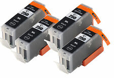 4x Pack Canon PGI-250XL Compatible Ink For Canon Pixma MG5420 MX922 MX722 iP7220