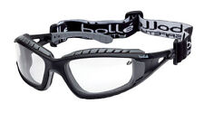 10  Bolle TRACKER II Safety Glasses Goggles Anti Mist Anti Scratch CLEAR TRACPSI