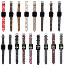 For Apple Watch Band Series 1/2/3/4/5 NEW Luxury Leather Strap iWatch Bracelet