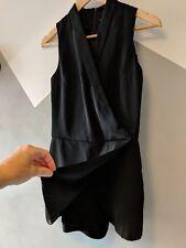 TOPSHOP PETITE Black Tuxedo Jumpsuit Playsuit Skort Mini Shorts / Skirt 8