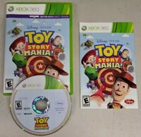 Toy Story Mania (Microsoft Xbox 360, 2012) Complete w/ Manual