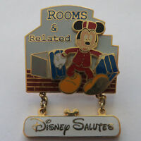 Disney Salutes Rooms & Related Pin