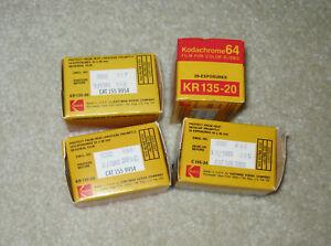 Vintage Early 1980's Kodak 35mm Film (unused) 4 Roll LOT